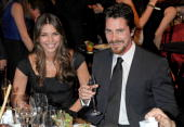 Actor Christian Bale and Sibi Bale during VH1's 14th Annual Critics' Choice Awards held at the Santa Monica Civic Auditorium on January 8 2009 in...