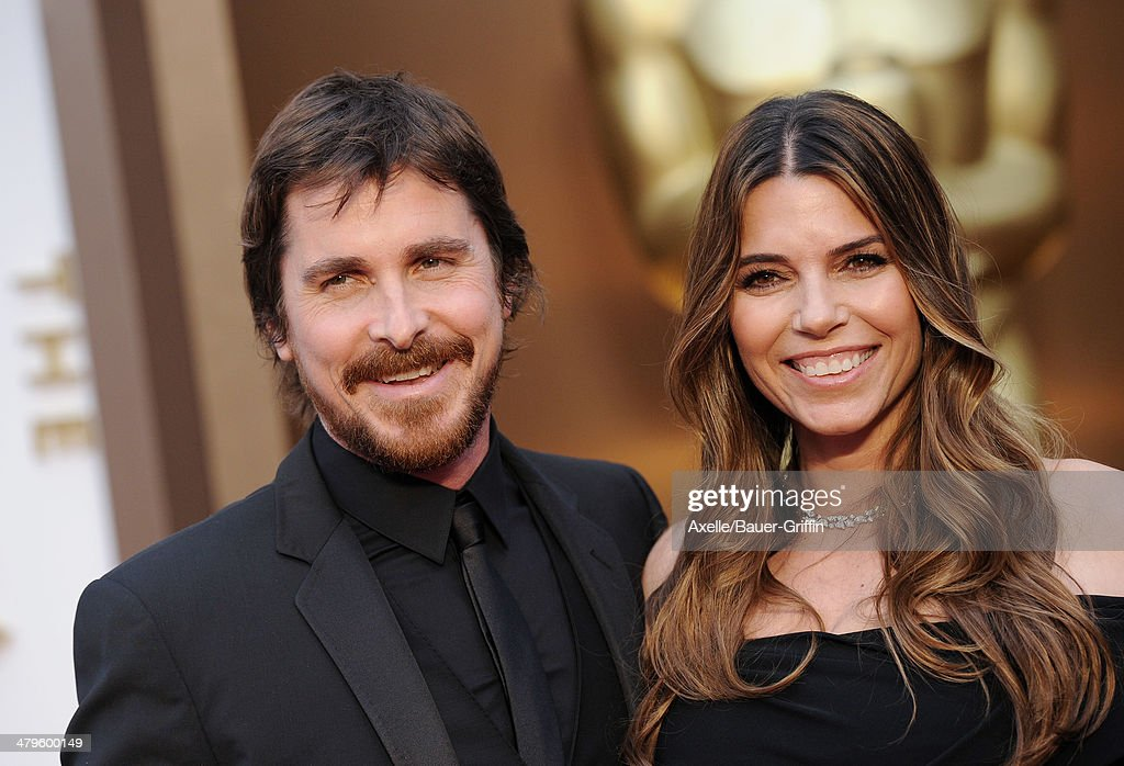 Actor <a gi-track='captionPersonalityLinkClicked' href=/galleries/search?phrase=Christian+Bale&family=editorial&specificpeople=239518 ng-click='$event.stopPropagation()'>Christian Bale</a> and Sibi Blazic arrive at the 86th Annual Academy Awards at Hollywood & Highland Center on March 2, 2014 in Hollywood, California.