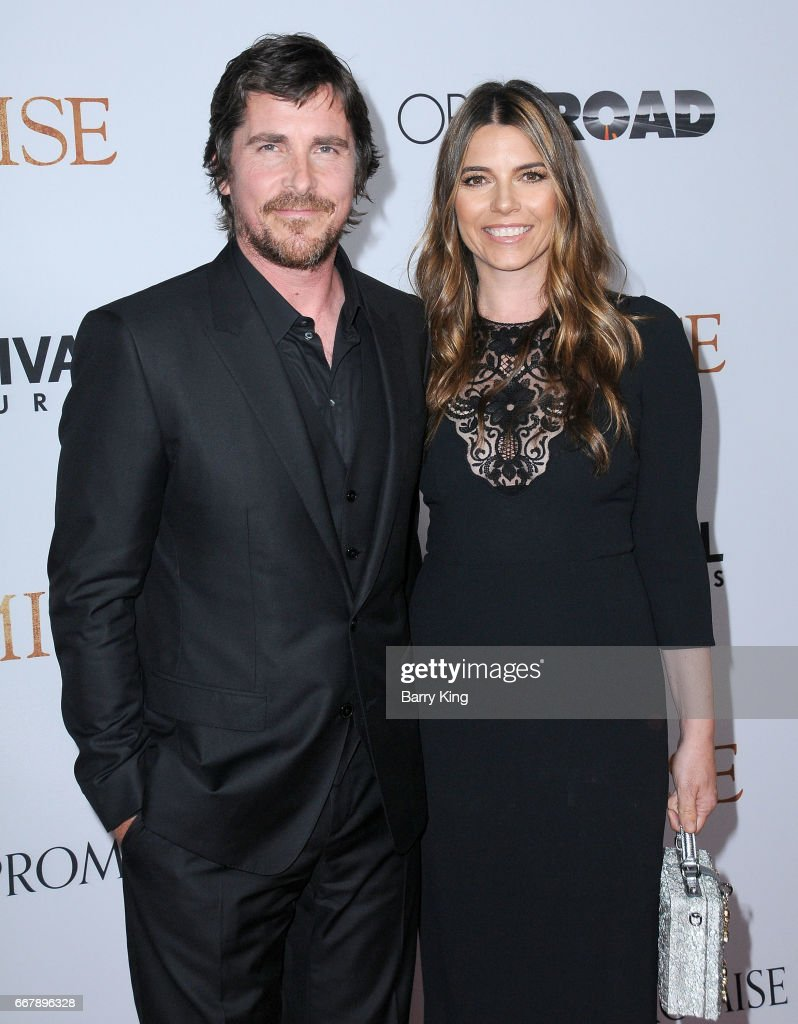 Actor Christian Bale and Sibi Blazic attend premiere of Open Roads Films' 'The Promise' at TCL Chinese Theatre on April 12, 2017 in Hollywood, California.