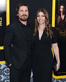 Actor Christian Bale and Sibi Blazic attend the 'American Hustle' screening at Ziegfeld Theater on December 8 2013 in New York City