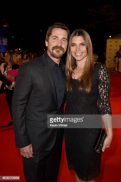 Actor Christian Bale and Sibi Blazic attend the 'The Promise' premiere during the 2016 Toronto International Film Festival at Roy Thomson Hall on...