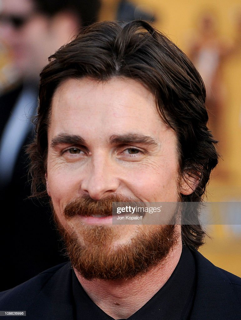 Actor Christian Bale arrives at the 17th Annual Screen Actors Guild Awards at The Shrine Auditorium on January 30 2011 in Los Angeles California