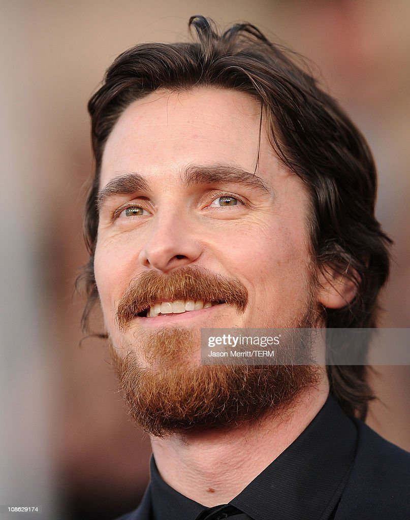 Actor <a gi-track='captionPersonalityLinkClicked' href=/galleries/search?phrase=Christian+Bale&family=editorial&specificpeople=239518 ng-click='$event.stopPropagation()'>Christian Bale</a> arrives at the 17th Annual Screen Actors Guild Awards held at The Shrine Auditorium on January 30, 2011 in Los Angeles, California.