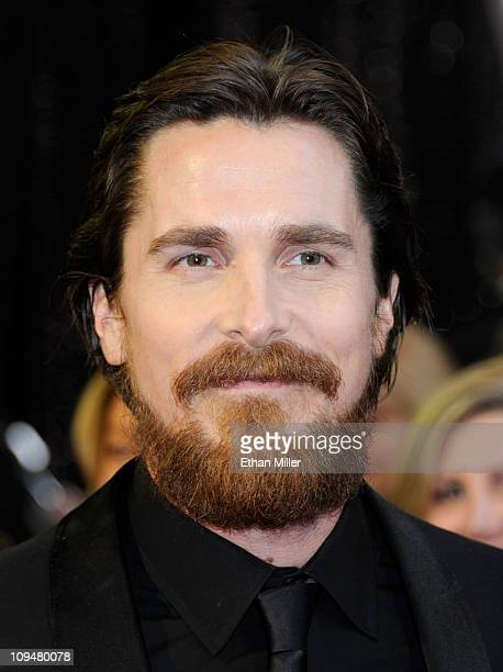 Actor Christian Bale arrives at the 83rd Annual Academy Awards held at the Kodak Theatre on February 27 2011 in Hollywood California
