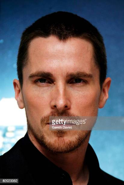 Actor Christian Bale arrives at the European film premiere of 'The Dark Knight' at the Odeon Leicester Square on July 21 2008 in London England
