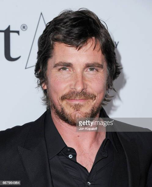 Actor Christian Bale arrives at the Los Angeles Premiere 'The Promise' at TCL Chinese Theatre on April 12 2017 in Hollywood California