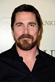 Actor Christian Bale arrives at the Premiere Of Broad Green Pictures' 'Knight Of Cups' at the Theatre at Ace Hotel on March 1 2016 in Los Angeles...