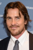 Actor Christian Bale attends Human Rights First's Human Rights Award Dinner at Pier Sixty at Chelsea Piers on October 24 2012 in New York City