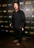 Actor Christian Bale attends the 'American Hustle' screening after party at Monkey Bar on December 6 2013 in New York City