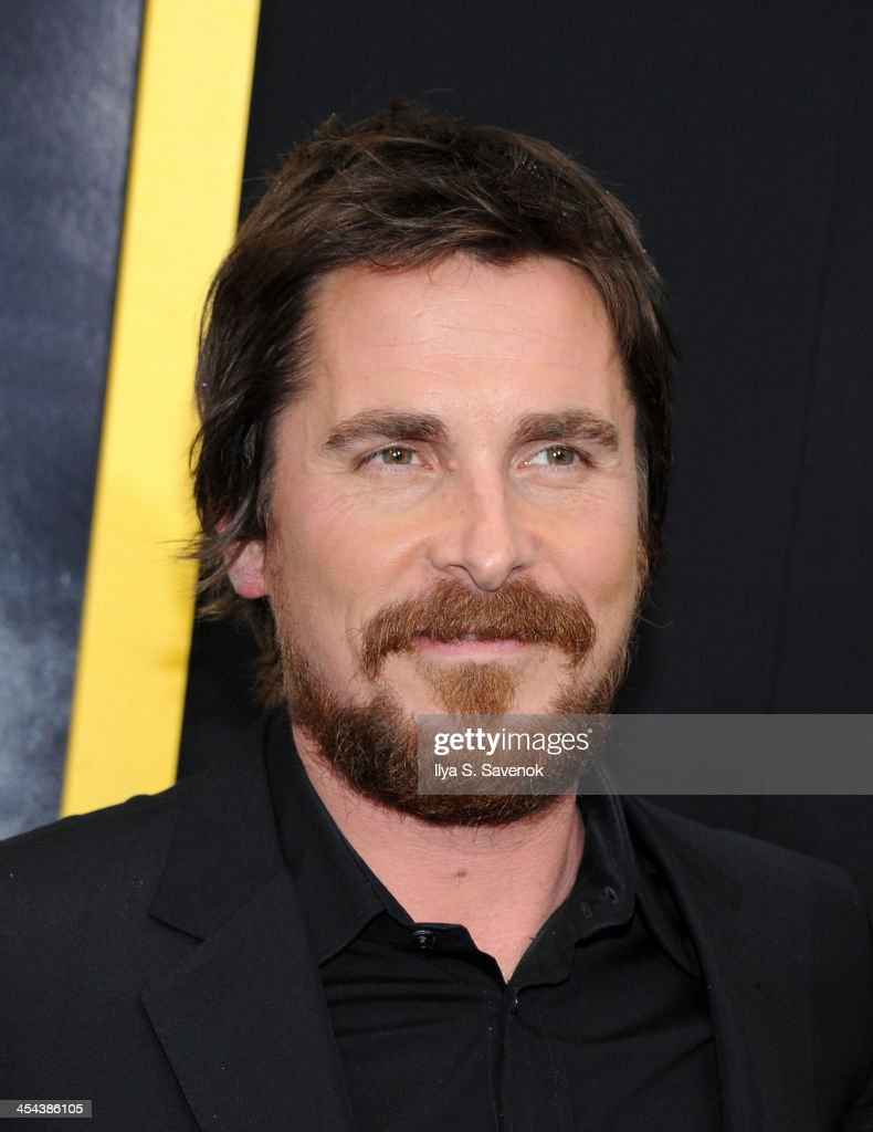 Actor Christian Bale attends the 'American Hustle' screening at Ziegfeld Theater on December 8, 2013 in New York City.