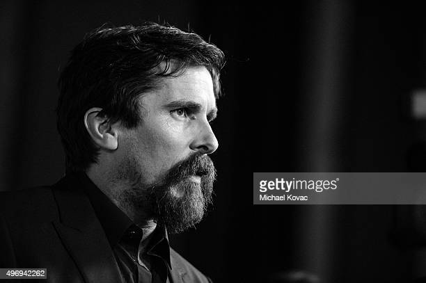 Actor Christian Bale attends the closing night gala premiere of Paramount Pictures' 'The Big Short' during AFI FEST 2015 at TCL Chinese Theatre on...