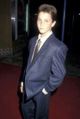 Actor Christian Bale attends the 'Empire of the Sun' Westwood Premiere on December 8 1987 at the Mann Village Theatre in Westwood California