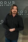 Actor Christian Bale attends the 'Exodus' photocall at the Villamagna Hotel on December 4 2014 in Madrid Spain