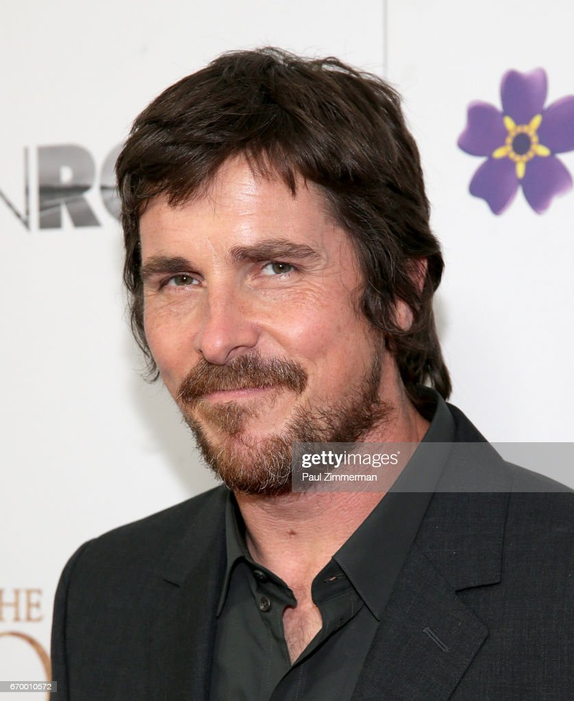 Actor Christian Bale attends 'The Promise' New York Screening at Paris Theatre on April 18, 2017 in New York City.