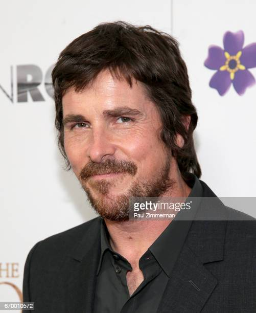 Actor Christian Bale attends 'The Promise' New York Screening at Paris Theatre on April 18 2017 in New York City