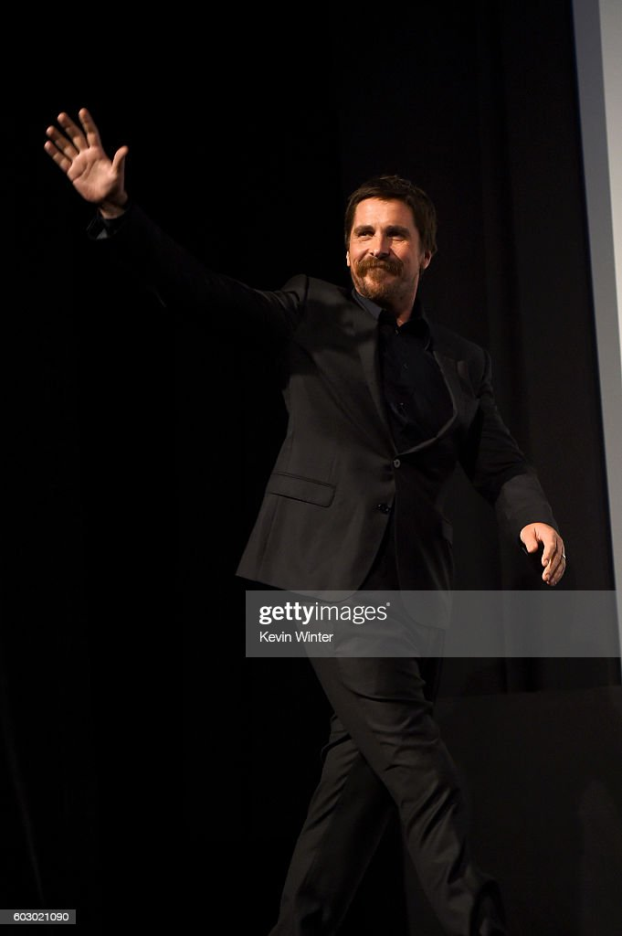Actor Christian Bale attends the 'The Promise' premiere during the 2016 Toronto International Film Festival at Roy Thomson Hall on September 11, 2016 in Toronto, Canada.