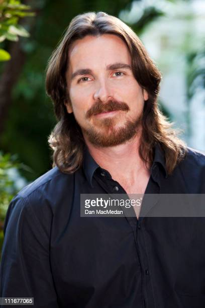 Actor Christian Bale is photographed for USA Today on December 2 2010 in Los Angeles California