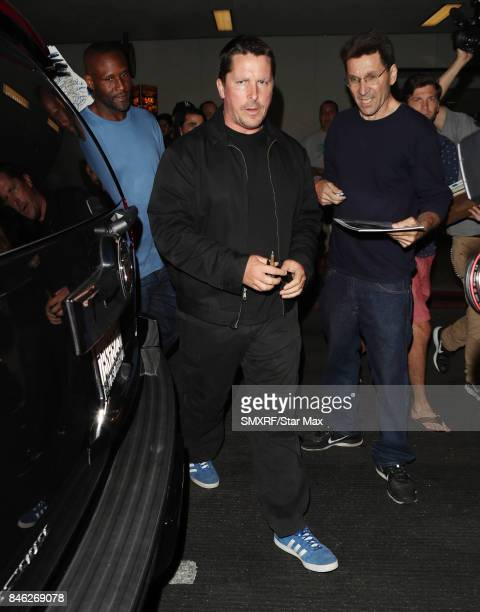 Actor Christian Bale is seen on September 12 2017 in Los Angeles California