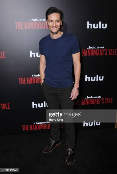 Actor Christian Barillas attends premiere of Hulu's 'The Handmaid's Tale' at ArcLight Cinemas Cinerama Dome on April 25 2017 in Hollywood California