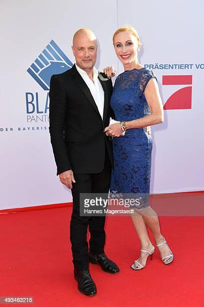 Actor Christian Berkel and Andrea Sawatzki attend the 'Bayerischer Fernsehpreis 2014' at Prinzregententheater on May 23 2014 in Munich Germany