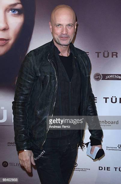 Actor Christian Berkel arrives at the Germany film premiere of 'Die Tuer' at Kulturbrauerei on November 25 2009 in Berlin Germany