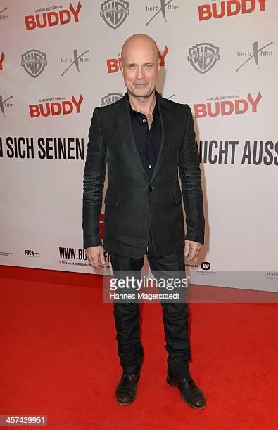 Actor Christian Berkel attends 'Buddy' Premiere at Mathaeser Filmpalast on December 17 2013 in Munich Germany