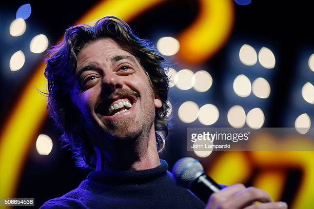 Actor Christian Borle attends BroadwayCon 2016 at the Hilton Midtown on January 24 2016 in New York City