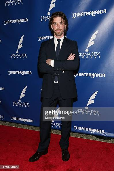 Actor Christian Borle attends the 2015 Drama Desk Awards at Marriott Marquis Times Square on May 31 2015 in New York City