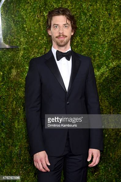 Actor Christian Borle attends the 2015 Tony Awards at Radio City Music Hall on June 7 2015 in New York City