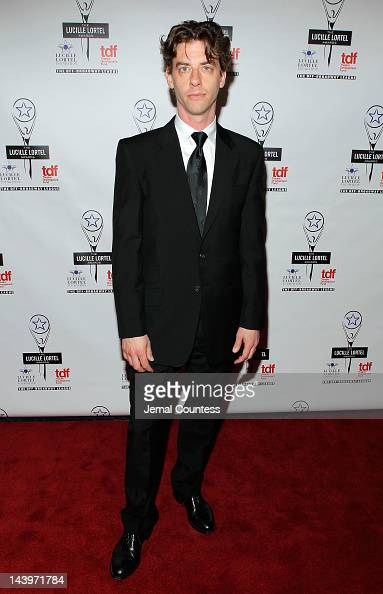 Actor Christian Borle attends the 27th Annual Lucille Lortel Awards at NYU Skirball Center on May 6 2012 in New York City