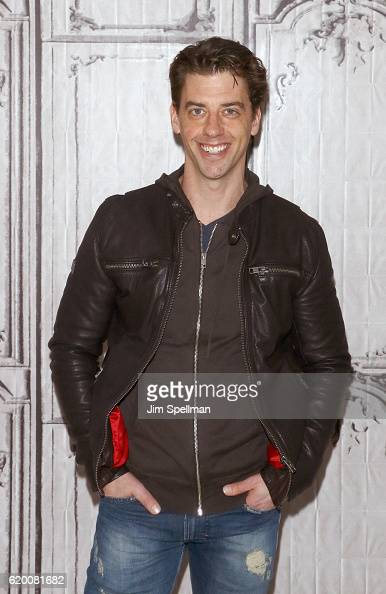 Actor Christian Borle attends The Build Series to discuss 'Falsettos' at AOL HQ on November 1 2016 in New York City