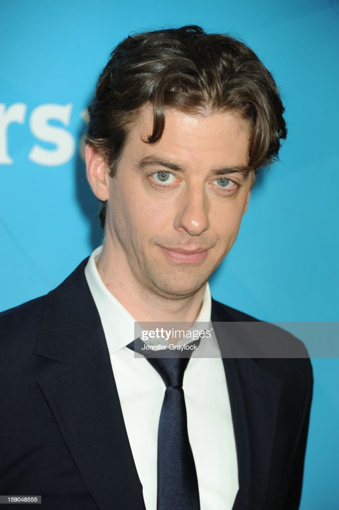 Actor Christian Borle attends the NBC Winter TCA Press Tour held at the Langham Huntington Hotel and Spa on January 6, 2013 in Pasadena, California.