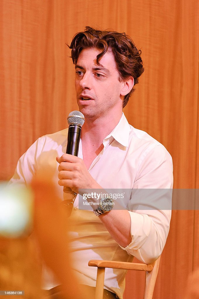 Actor Christian Borle attends the 'Peter And The Starcatcher' Q & A and Autograph Signing at Barnes & Noble, 86th & Lexington on June 14, 2012 in New York City.