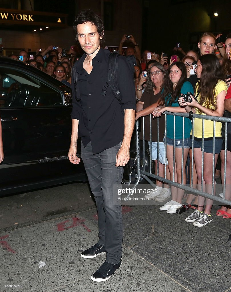 Actor Christian Camargo attends the 'Romeo And Juliet' On Broadway First Performance at the Richard Rodgers Theatre on August 24, 2013 in New York City.