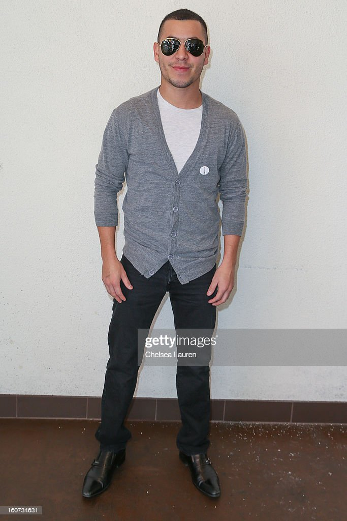 Actor Christian Campos attends anti-human trafficking family charity luncheon in support of Unlikely Heroes at Veggie Grill on February 4, 2013 in Los Angeles, California.