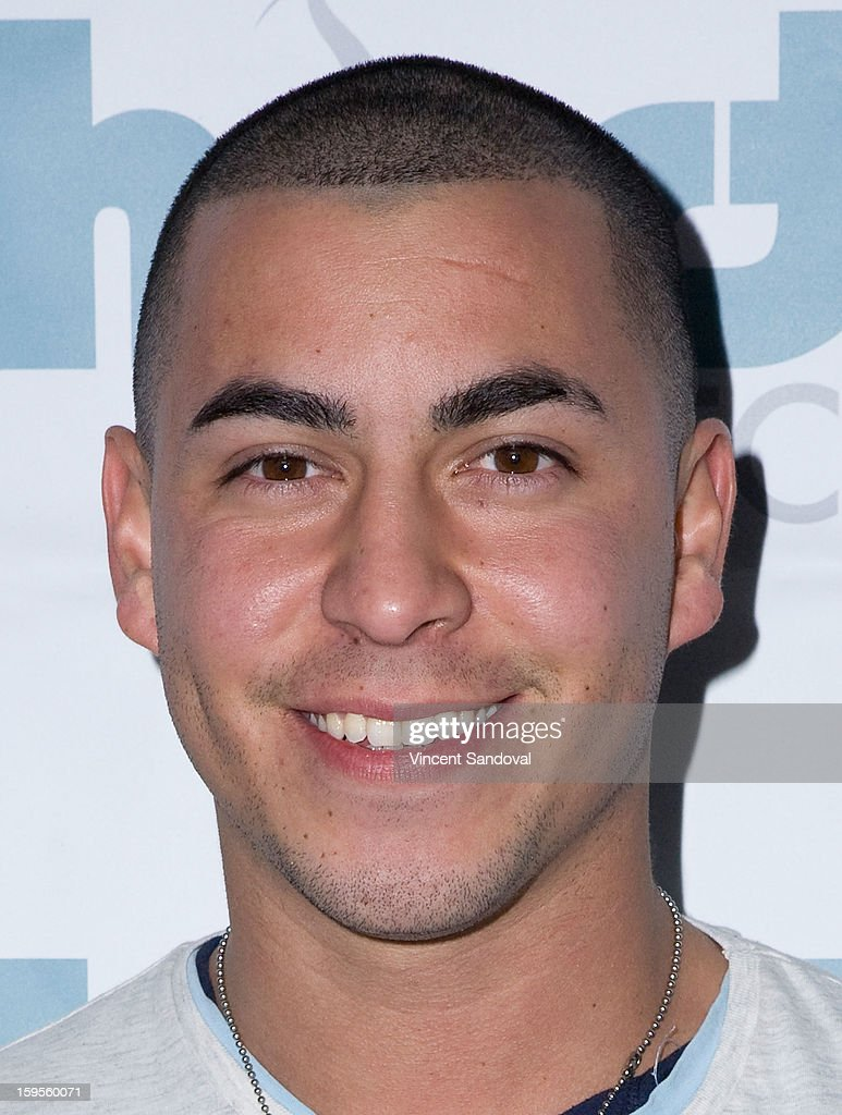 Actor Christian Campos attends the Thirst Project charity cocktail party at Lexington Social House on January 15, 2013 in Hollywood, California.