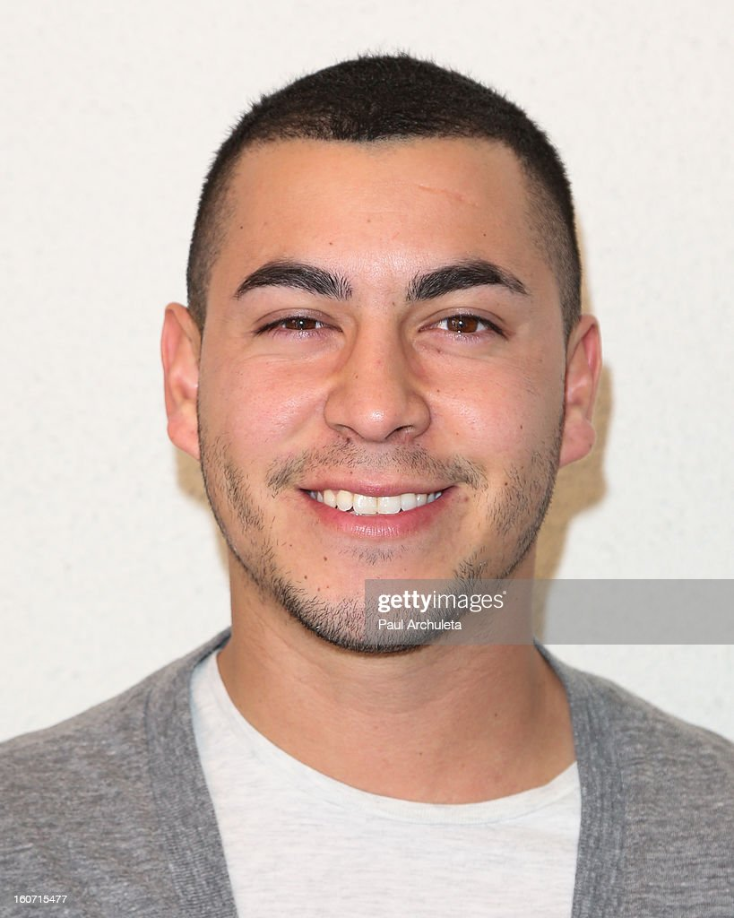 Actor Christian Campos attends The Unlikely Heroes charity luncheon event in support of anti-human trafficking at the Veggie Grill on February 4, 2013 in Los Angeles, California.