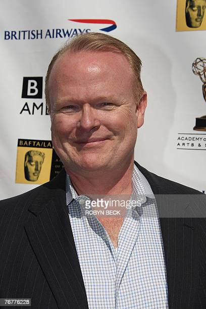 US actor Christian Clemenson arrives for a preEmmy Awards tea party hosted by the British Academy of Film Television Arts/Los Angeles and the Academy...