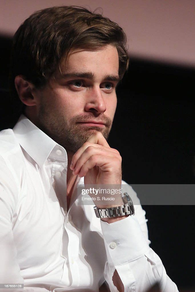 Actor Christian Cooke speaks at the 'Romeo And Juliet' Press Conference during the 8th Rome Film Festival at the Auditorium Parco Della Musica on November 11, 2013 in Rome, Italy.