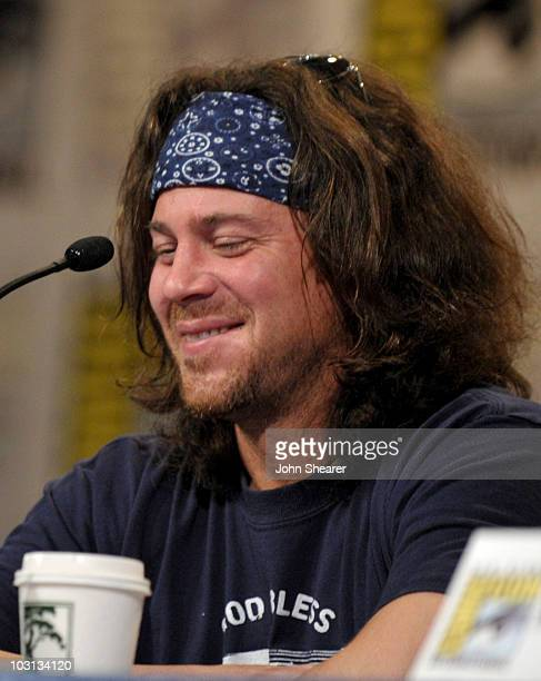 Actor Christian Kane attends the 'Leverage' discussion panel during ComicCon 2010 at San Diego Convention Center on July 24 2010 in San Diego...