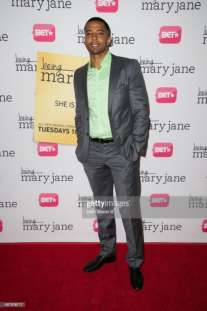 Actor Christian Keyes attends BET's New Series 'Being Mary Jane' Los Angeles Premiere on December 16, 2013 in Los Angeles, California.