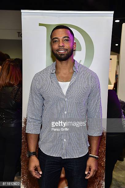 Actor Christian Keyes attends Bronner Brothers International Beauty Show at Georgia World Congress Center on February 20 2016 in Atlanta Georgia