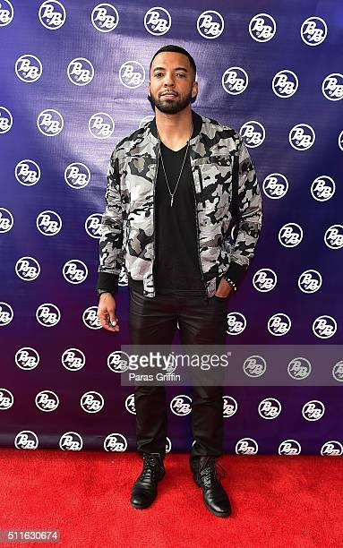 Actor Christian Keyes attends Bronner Brothers International Beauty Show at Georgia World Congress Center on February 21 2016 in Atlanta Georgia
