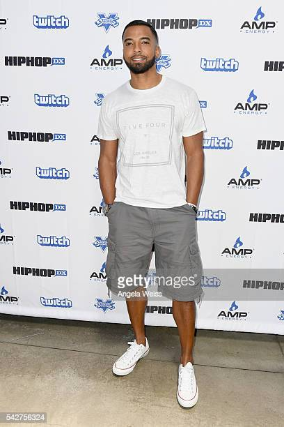 Actor Christian Keyes attends Next Level Presented By AMP Energy A Hip Hop Gaming Tournament at Rostrum Records on June 23 2016 in Los Angeles...