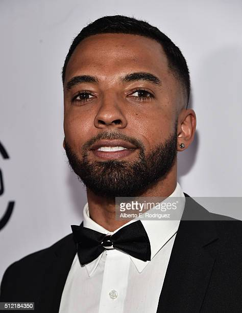 Actor Christian Keyes attends the ALL Def Movie Awards at Lure Nightclub on February 24 2016 in Hollywood California