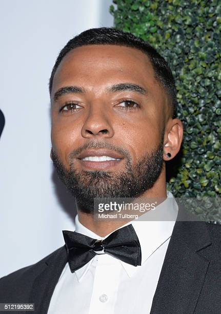Actor Christian Keyes attends the first All Def Movie Awards at Lure Nightclub on February 24 2016 in Los Angeles California