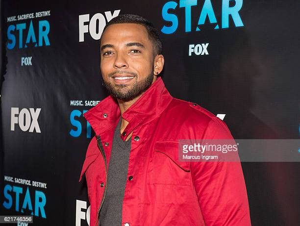 Actor Christian Keyes attends the 'STAR' ATL Live On the Park screening at Park Tavern on November 7 2016 in Atlanta Georgia