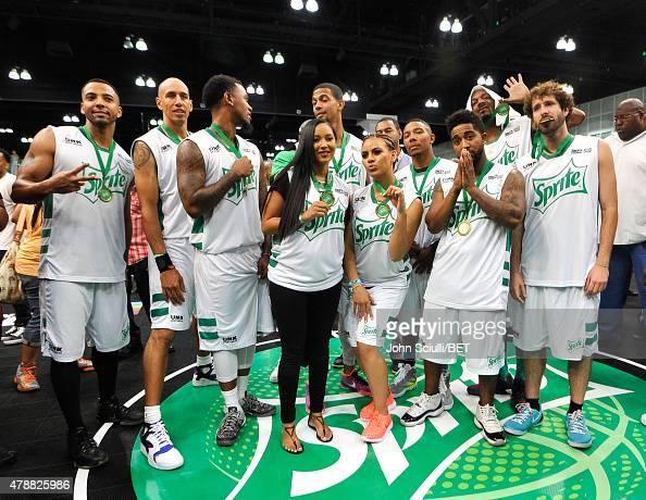 Actor Christian Keyes former NBA player Doug Christie former NBA player Daniel 'Boobie' Gibson Harlem Globetrotter Tammy TTime professional dunker...