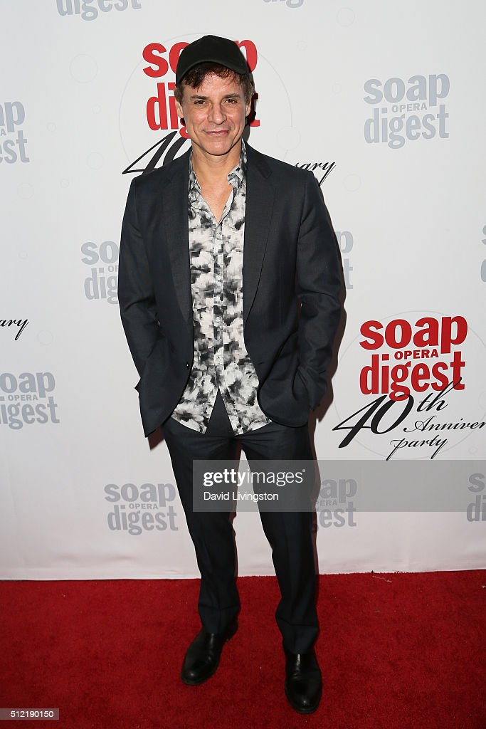 Actor <a gi-track='captionPersonalityLinkClicked' href=/galleries/search?phrase=Christian+LeBlanc&family=editorial&specificpeople=624082 ng-click='$event.stopPropagation()'>Christian LeBlanc</a> arrives at the 40th Anniversary of the Soap Opera Digest at The Argyle on February 24, 2016 in Hollywood, California.