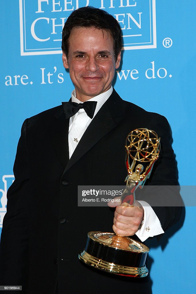 Actor Christian LeBlanc poses in the press room during the 36th Annual Daytime Emmy Awards at The Orpheum Theatre on August 30, 2009 in Los Angeles, California.